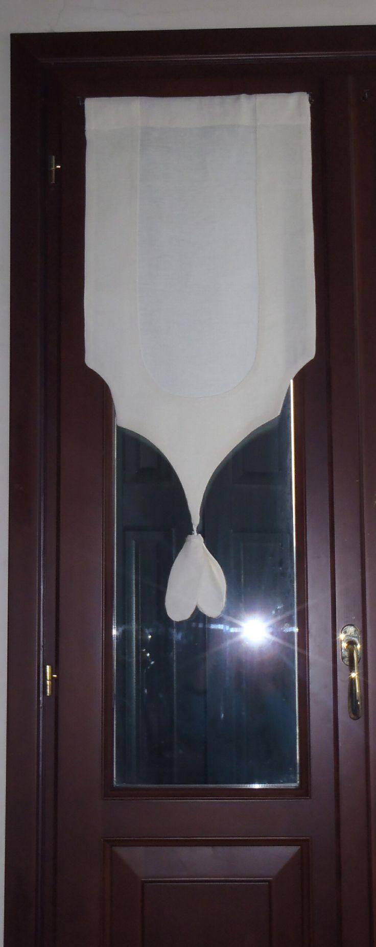 Vetrage ( tendina) in però lino