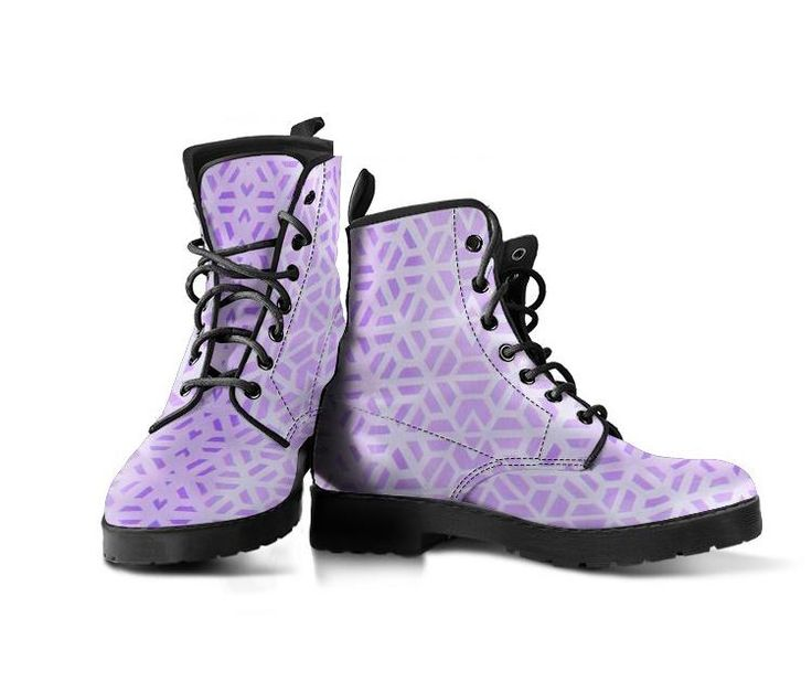 Purple Fractals - Vegan Women's Boots – Noa Knafo