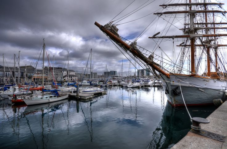 "https://flic.kr/p/rmBgR2 | The ""Kaskelot"" at Sutton Harbour, Plymouth 