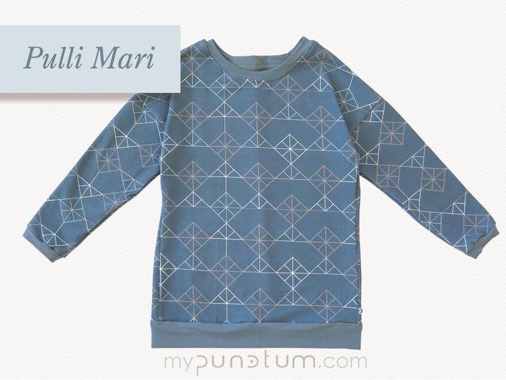 Schon entdeckt? Das ist unser EXTRA langer Pullover Mari. Schaut vorbei:  >> de.dawanda.com/shop/mypunctum >> etsy.com/de/shop/mypunctum  Direktanfrage auch bei uns per Email: >> office@mypunctum.com  www.mypunctum.com