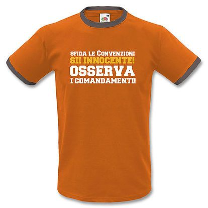 Stampa T-Shirt Uomo #chesterton, #frassati, #distributismo