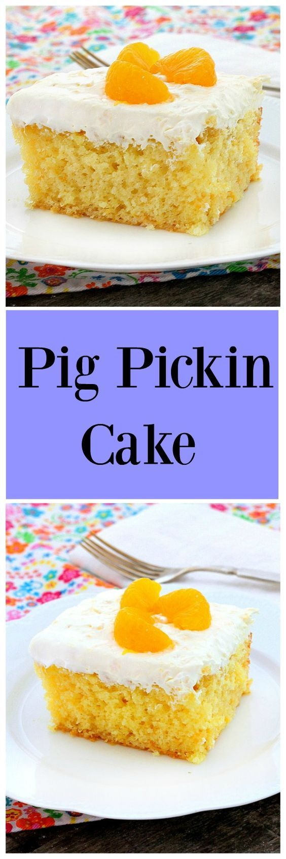 Pig Pickin Cake is so easy to make and absolutely delicious!  It's the perfect cool summer dessert for holidays and family get-togethers!