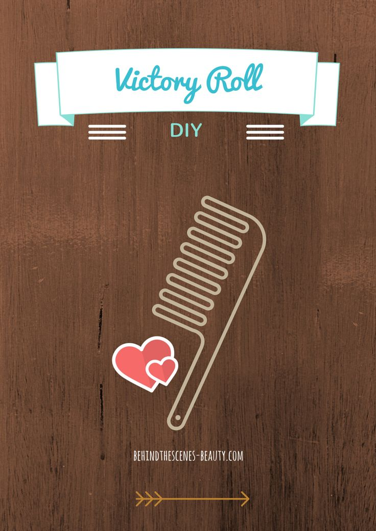 The Easiest Victory Roll Ever: Victory Roll DIY
