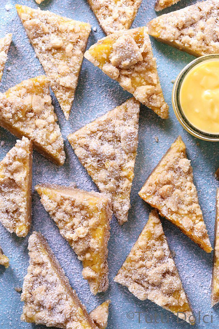 meyer lemon | lemon | lemon bars | crumb bars | lemon desserts