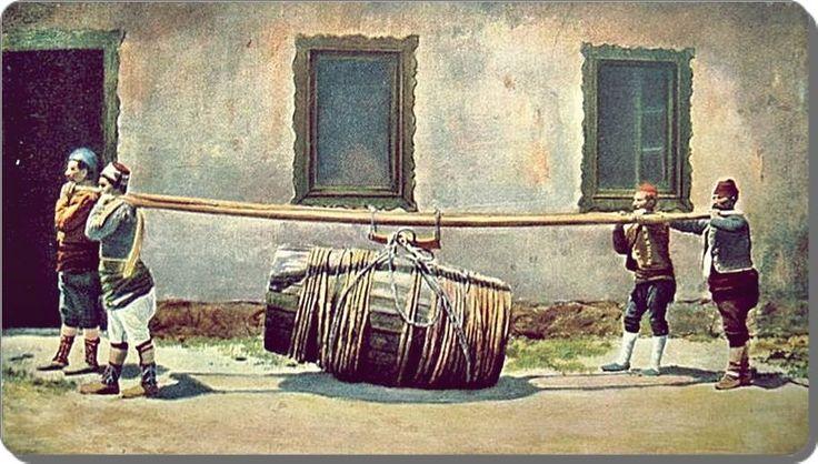 Sırık hamalları - 1900 ler