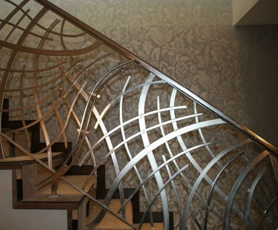 Laser cut balustrade