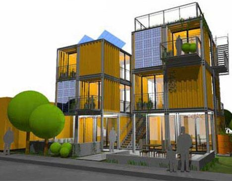 HybridSeattle is a West Coast architectural firm that has created a number of real-life shipping container buildings and has also envisioned a number of other fixed and mobile architectural designs based on cargo container modules. Built and unbuilt, their work is impressive and just the tip of the architectural iceberg.