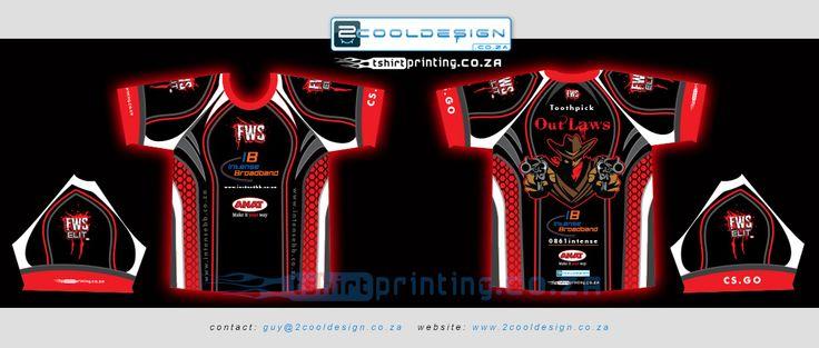 cool gamer shirt design by http://2cooldesign.co.za & http://tshirtprinting.co.za