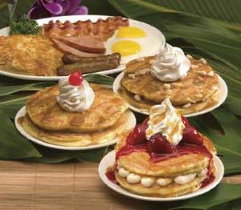 International House of Pancakes Copycat Recipes: IHOP Restaurants Creative Pancake Toppings