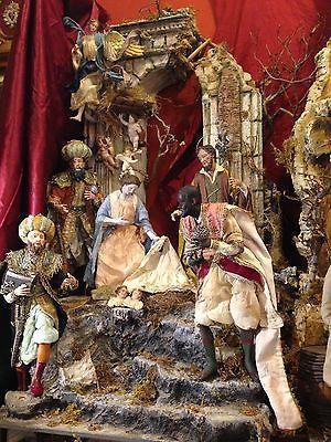 casa scenografia presepiale PRESEPE NAPOLETANO Neapolitan osteria Paolella