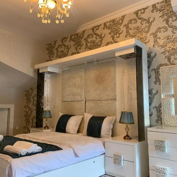 Qafqaz Family Villa Set In Gabala 2 Km From L2 Riverside Gondola Lift 5 Km From L4 Gabala Gondola Lift And 5 Km From Sofa Bed Bedroom Fold Up Beds Family Villa