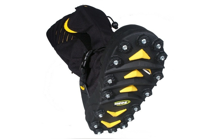 Stabilicers ice cleat overshoes made in usa outdoor for Ice fishing cleats