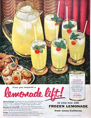It's time you enjoyed a lemonade lift! 1950s
