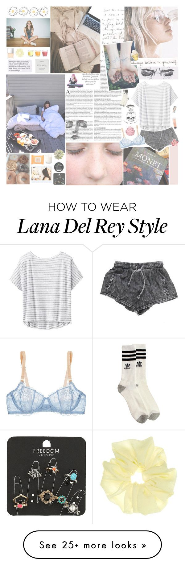 """i'm looking through you while you're looking through your phone"" by fairhykid on Polyvore featuring Byredo, Topshop, Urban Outfitters, Burt's Bees, Gaia, Athleta, STELLA McCARTNEY, Butter London, adidas and Zara Home"