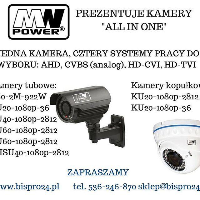 Zaprszamy po takie fajne kamery 4 w 1 do nas! http://www.sklepzkamerami.pl/?kamery-ahd-zewnetrzne,190,3 #bispro24 #monitoring #kamera #mwpower #ahd