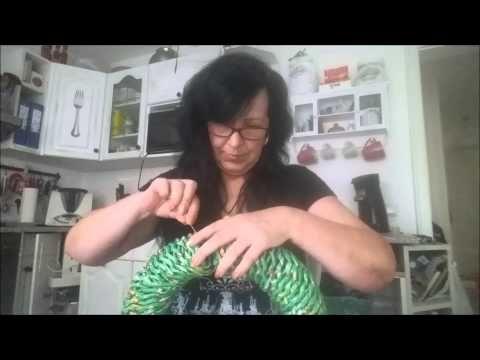 Papier Kranz verbinden - YouTube