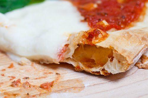 Thin roman pizza crust