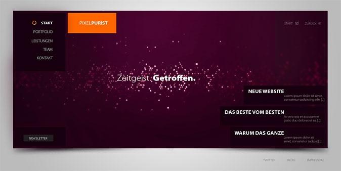 http://www.webdesigndev.com/web-development/30-amazing-web-design-interfaces-from-deviantart
