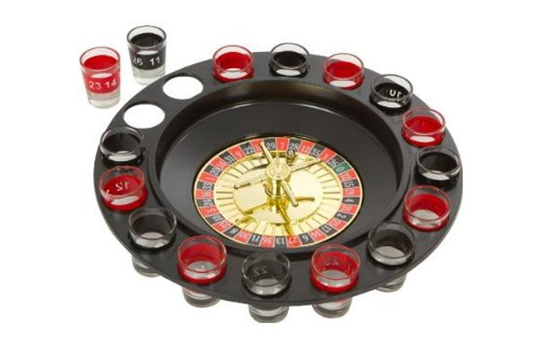 Love roulette? Love drinking? Get one of these for your next party! http://coolgadgetstoday.com/shot-roulette/