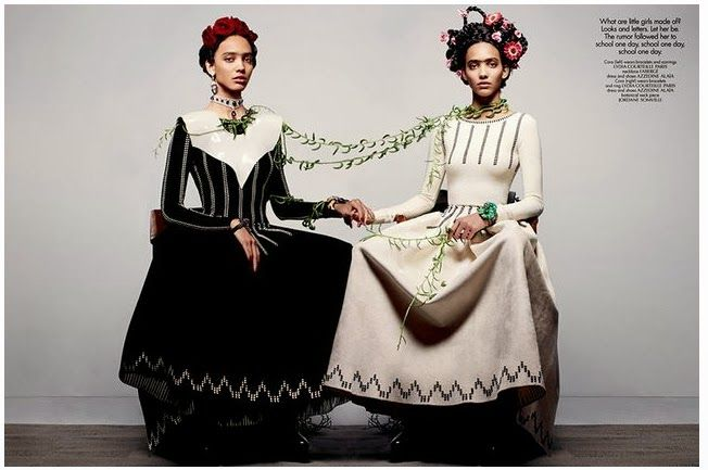Kahlo inspired shoot