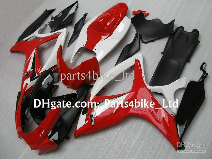 409.20$  Buy here - http://airv3.worlditems.win/all/product.php?id=32298662960 - red black white ABS fairing kit for 2006 2007 SUZUKI GSXR 600 fairings GSXR 750 K6 K7  06 07