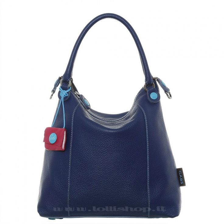 Borsa Gabs GSac in pelle di Blu #lollishop #gabs #collection #bag #bags #borsa #womenfashion #apparel #style #fashion #madeinitaly #winter #outfit #red #black #blue