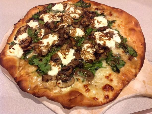 ... goat cheese pizza goat cheese pizza mushroom pizza pizza recipes goats