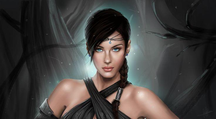 Cool women picture (Tanisha Blare 3000x1662)