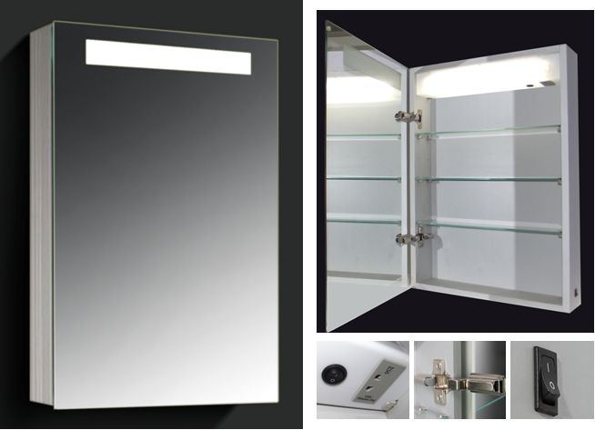 led lighted medicine cabinets with mirrors