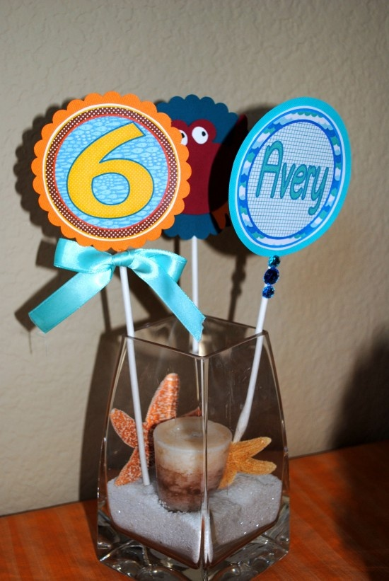 36 best Mermaid birthday theme images on Pinterest Mermaid