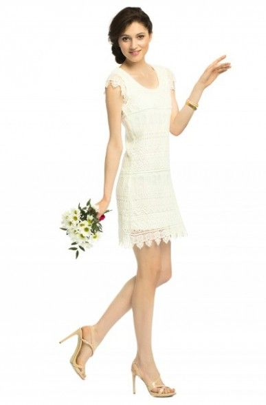 http://answear.cz/creamy-921-sbo.html #Creamy #dress #wedding #flowers #love