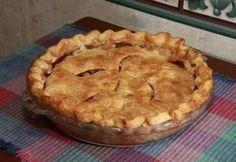 Amerikai almás pite Nagyon sokszor megcsináltam, család kedvence.