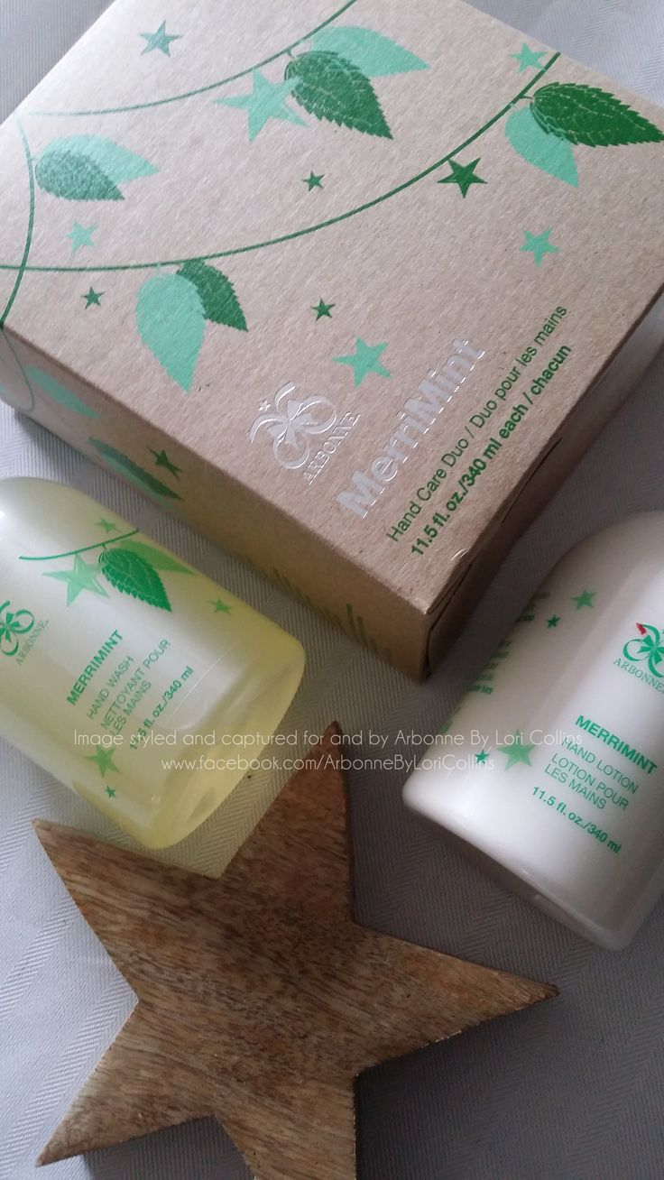 MerriMint Hand Care Duo will spread pure, clean joy throughout your home with this minty fresh gift. Enjoy the moisture rich lather of the Hand Wash and Hand Lotion. With the hint of lemongrass and aloe this is the perfect scent for the festive season.