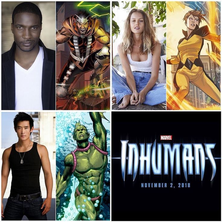 The #Inhumans cast is complete! #EmeIkwuakor from #Concussion is #Gorgon! #IsabelleCornish from #HomeandAway and #PubertyBlues is #Crystal and #StreetFighter's #MikeMoh is #Triton! Also cast in the TV show are #SonyaBalmores as #Auran and #EllenWoglam in an undisclosed role. Thanks to @marvel_update for the news!