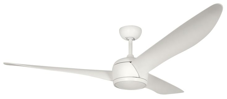 "This mother fucker is huge. Gargantuan. The Matte Chalk White is super compelling.   56"" Nordic 3 Blade Ceiling Fan with Remote"