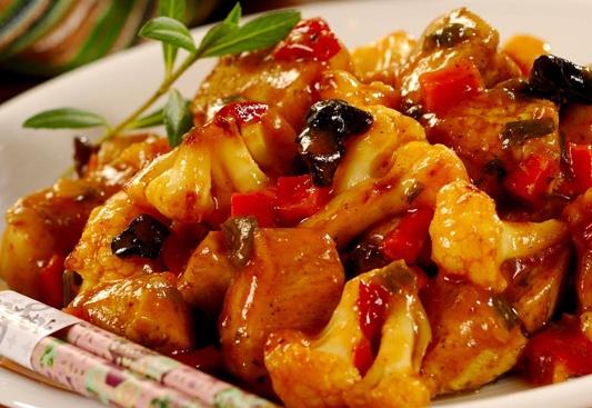 Kalafior po chińsku/ Chinese cauliflower  www.winiary.pl