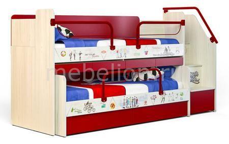 Сканд-Мебель Актив  — 63400р. ---------------------------------- Артикул - SKN_Active_system_2, Бренд - Сканд-Мебель (Россия), Серия - Актив, Примечание - Чтобы уточнить конечную стоимость и комплектацию набора, изображенного на фото, обращайтесь к менеджеру по продажам., Гарантия, месяцев - 24, Время изготовления, дней - 14, Ширина, мм - 2575, Выступ, мм - 1024, Высота, мм - 1437, Цвет фасада - красный, светло-бежевый с цветным рисунком, Цвет корпуса - красный, светло-бежевый, Материал…