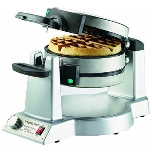 Waring WMK600FR refurbished Double Belgian Waffle Maker (Certified Refurbished)