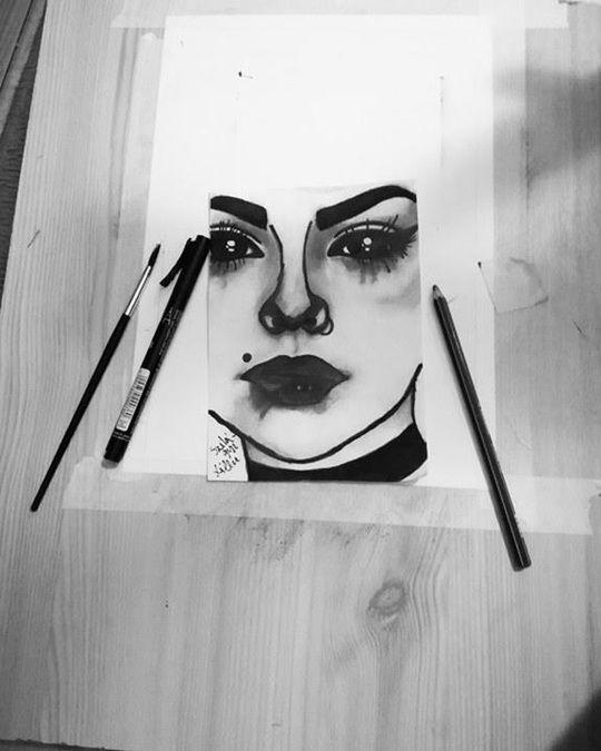 Szomorú lány | Képek / rajzok