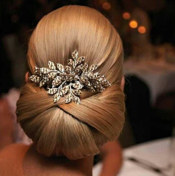 Wedding hair this is stunning  very classic