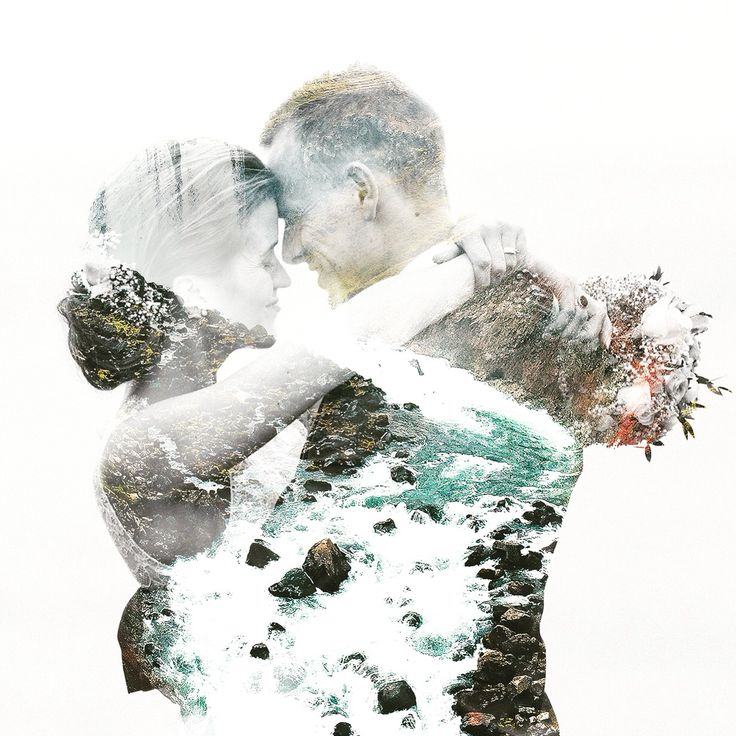 Wedding Iceland 2015 Double Exposure