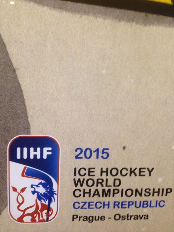 A Takhle Fandim Já Našim Na IIHF2015 Praha/Ostrava/And This Is ⭐️How I Cheer Our Czech Hockey Team