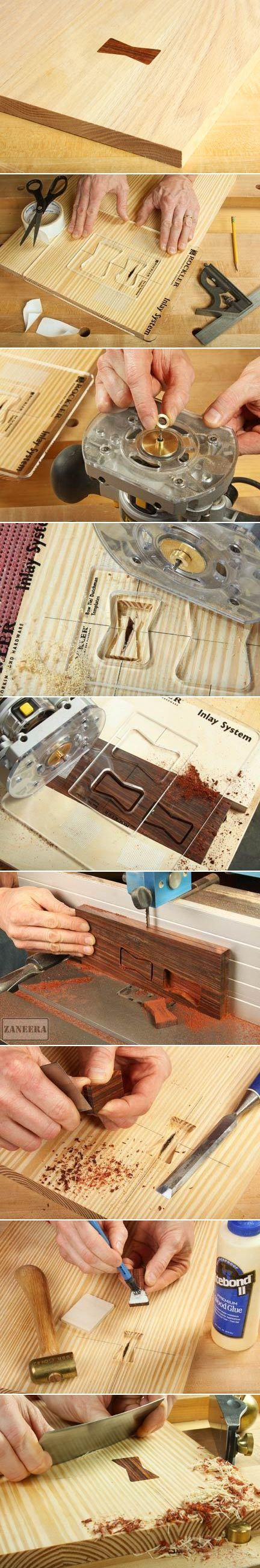 making butterfly keys with your router from http://www.woodworkersjournal.com/making-butterfly-inlay-keys-router/