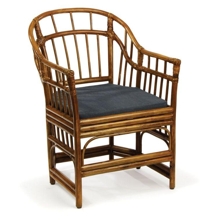 Bay isle home pearlman rattan barrel chair rattan