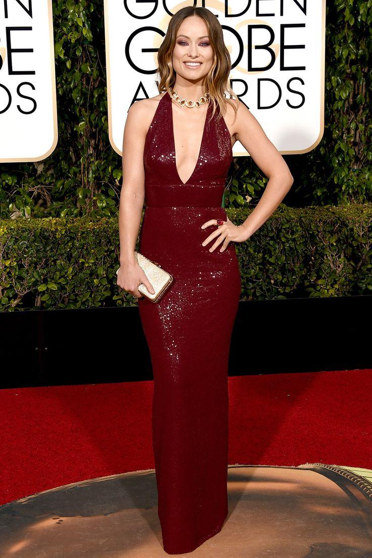 V.F.'s Best-Dressed 2016 Golden Globes | Olivia Wilde