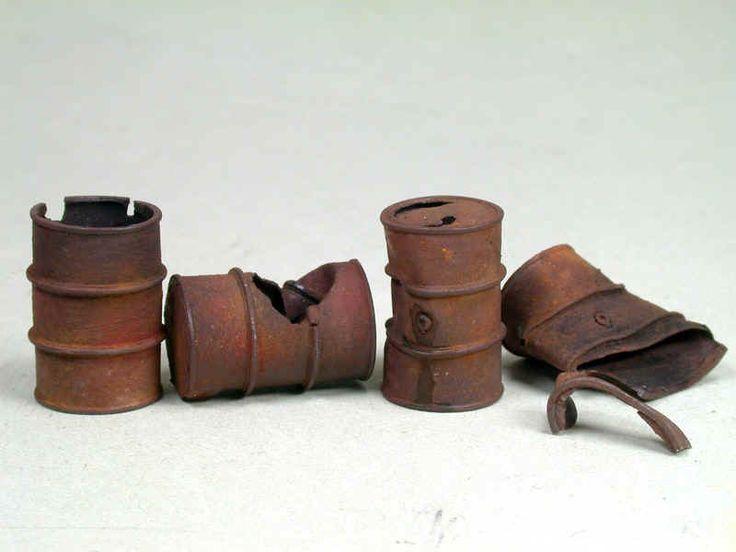 Rusty old barrel tutorial