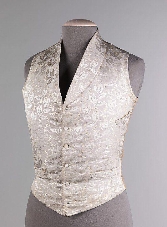 Свадебный жилет. Третья четверть 19 в. США. The Metropolitan Museum of Art