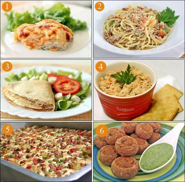 PANELATERAPIA - Blog de Culinária, Gastronomia e Receitas: Receitas com Atum