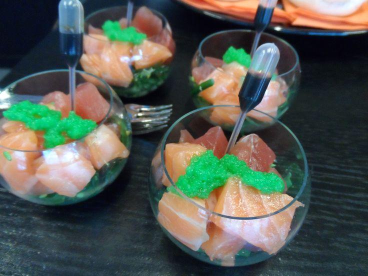Sashimi - tonijn & zalm