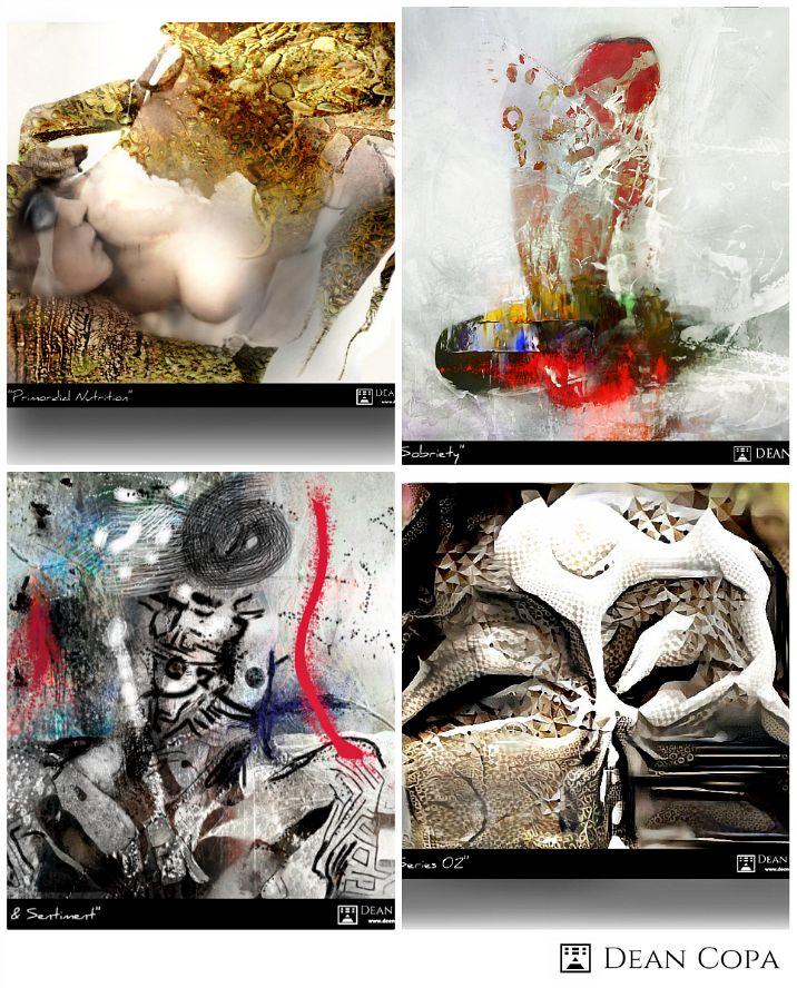 Artworks of 2014-17 by Dean Copa.  #Art #FineArt #DeanCopa